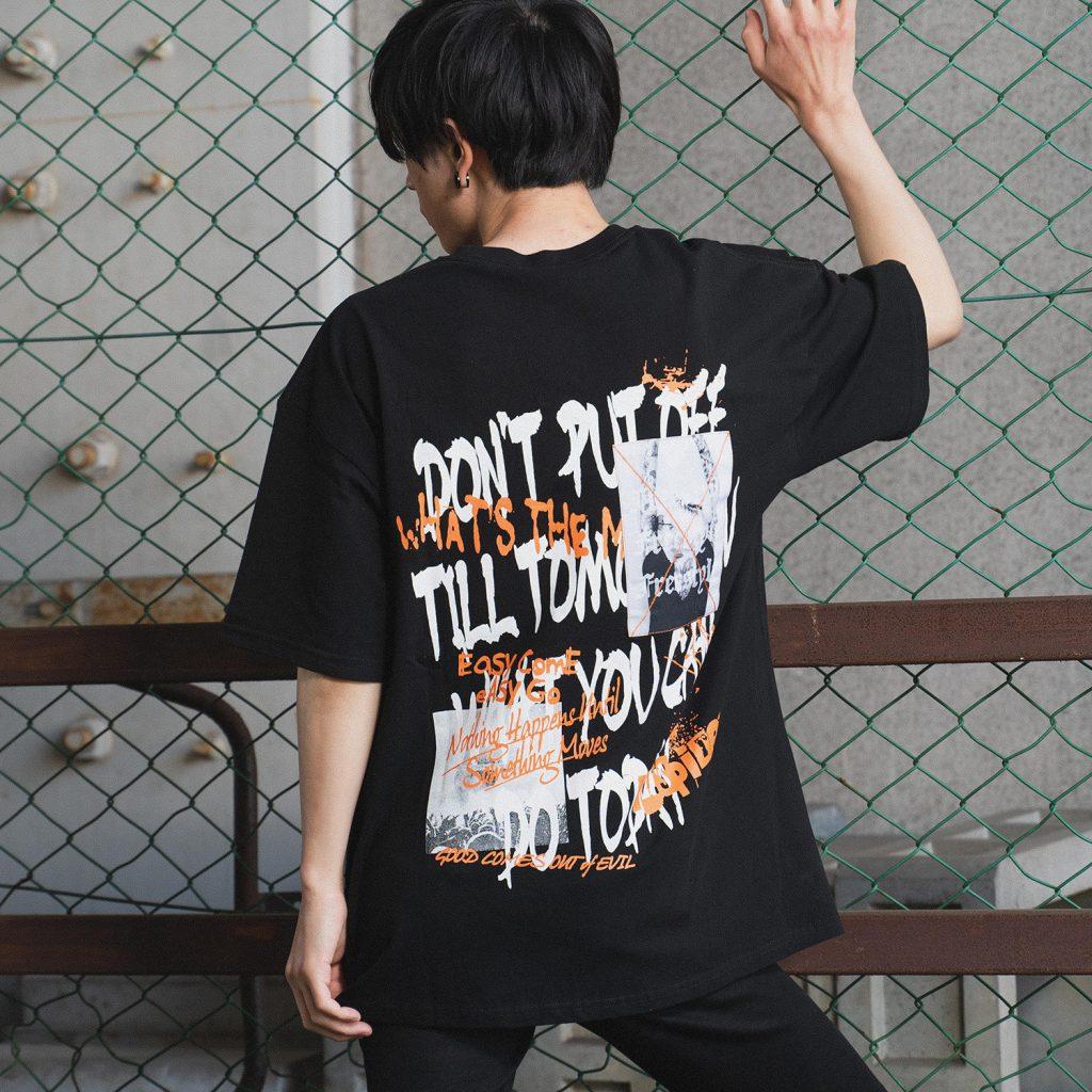 半袖 Tシャツ(貼付け+プリント)5